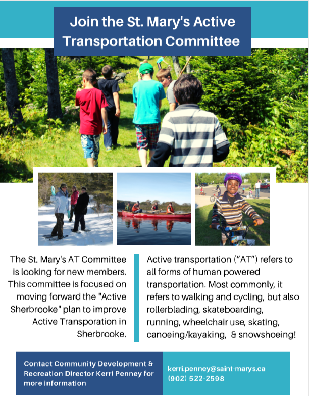 Join the St. Mary's Active Transportation Committee